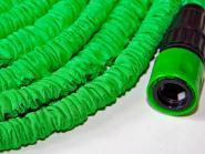 Wunderschlauch 15m grün inkl. 2 x EU-Adapter