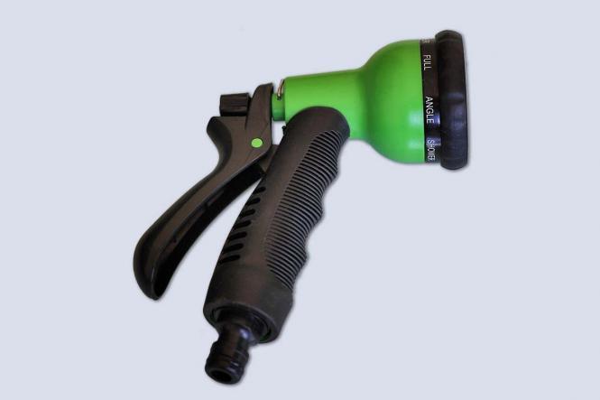 Comfort Spritzbrause grün EU-Adapter